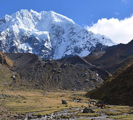 Salkantay Inca Trail Trek 7 Days