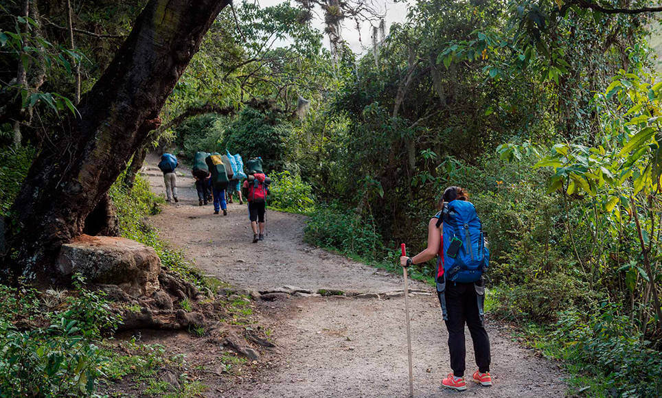 Camino Inca corto 2 días-servicio privado