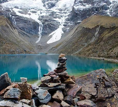 Laguna Humantay Peru, Camino Salkantay