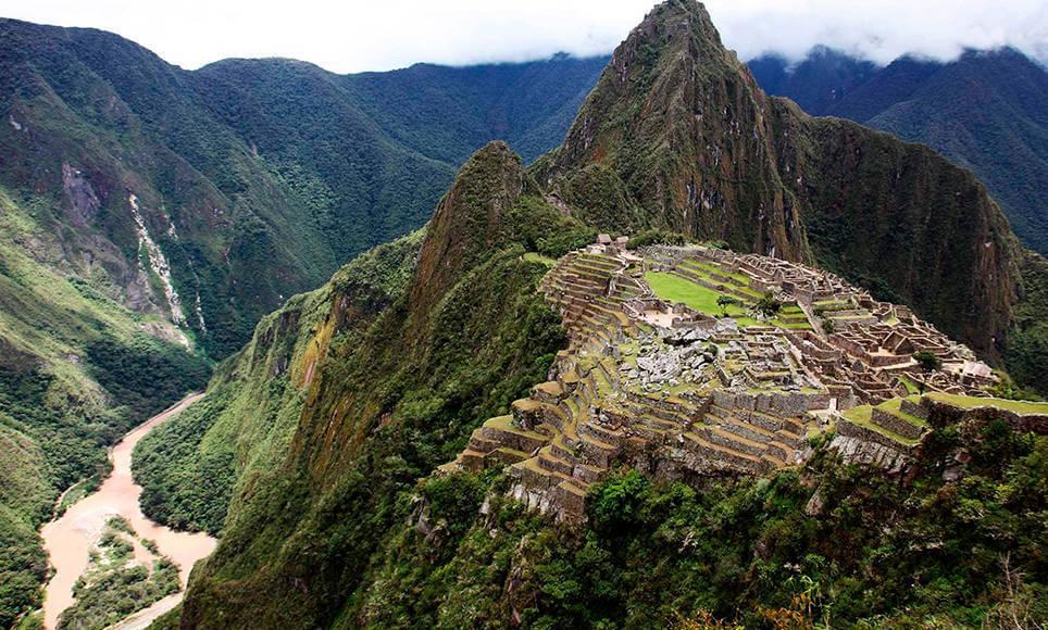 Huany Picchu and Machu Picchu
