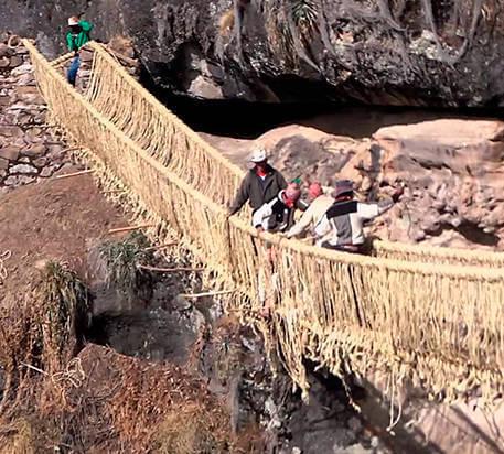 Puente Colgante Cusco Q'eswachaka