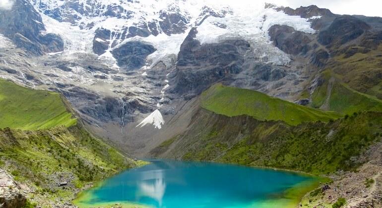 view to humantay lake